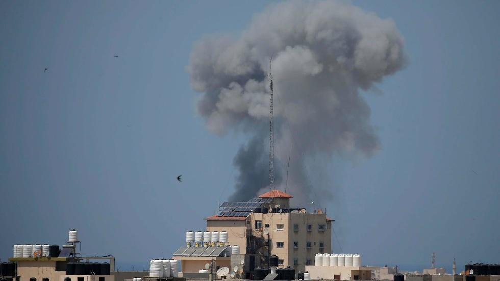 Reportan nuevo ataque israelí en la Franja de Gaza