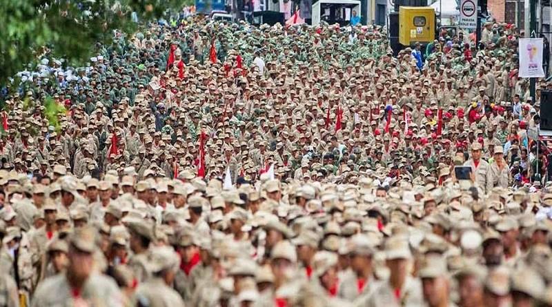 Venezuela: Milicianos, una respuesta que pone a pensar a Estados Unidos