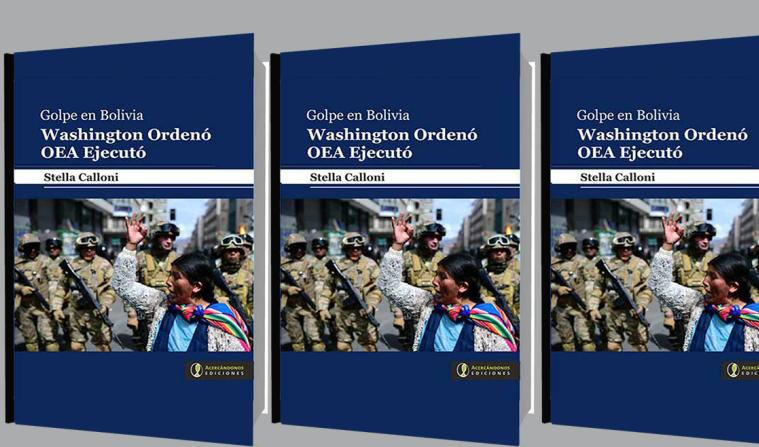 Desnuda escritora argentina en nuevo libro antecedentes del golpe en Bolivia