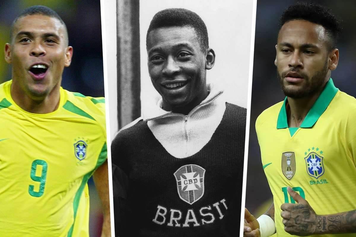 Neymar Jr. supera a Ronaldo como segundo máximo goleador de Brasil