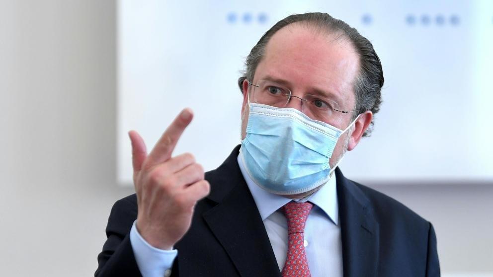 El ministro de Asuntos Exteriores austriaco, Alexander Schallenberg.