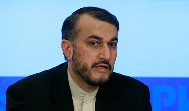 El director general para Asuntos Internacionales del Parlamento iraní, Hosein Amir Abdolahian.