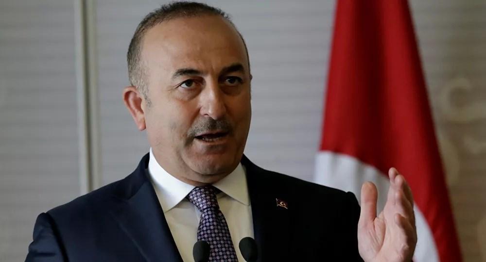 El ministro de Exteriores turco, Mevlut Cavusoglu.