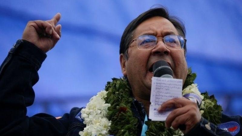 Luis Arce, presidente electo de Bolivia.