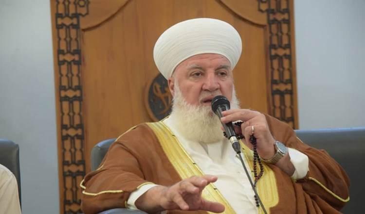 Mufti de Damasco y su campo, Cheikh Adnan Afiouni.