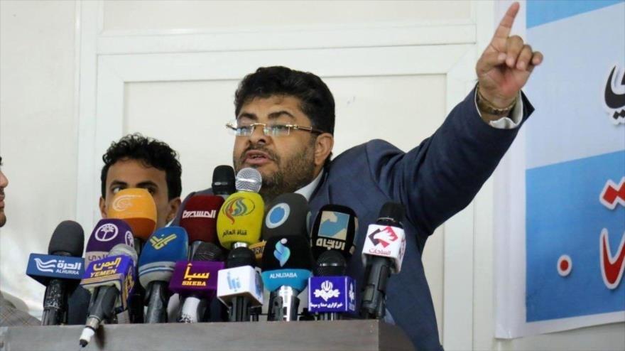 El presidente del Comité Supremo Revolucionario yemenita, Muhamad Ali al-Houthi.