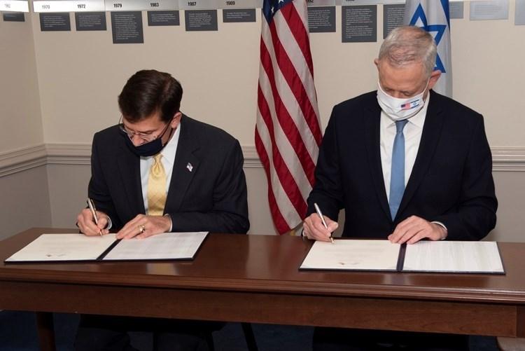 EE.UU. e (Israel) firman acuerdo sobre tema militar