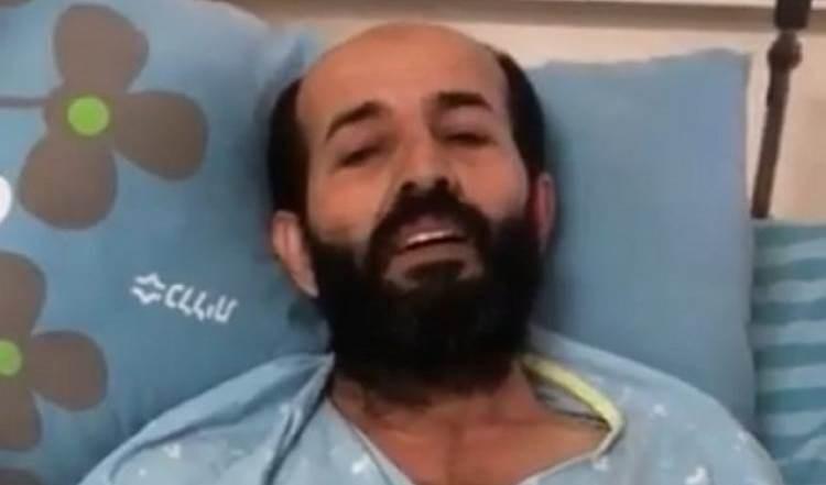 El prisionero palestino Maher Al-Akhras.