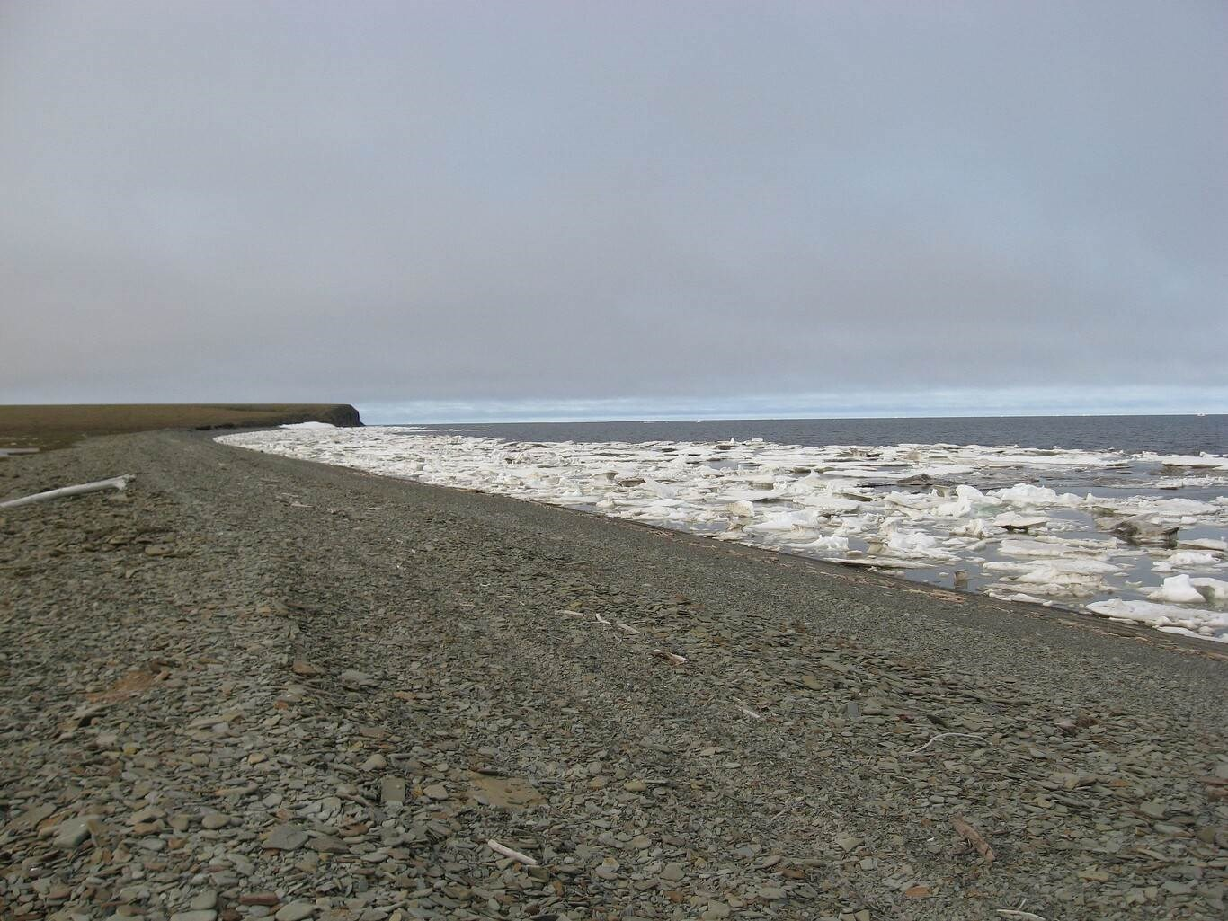 Por primera vez el Mar de Laptev en el Ártico no se ha congelado en octubre (Foto: Xataka)