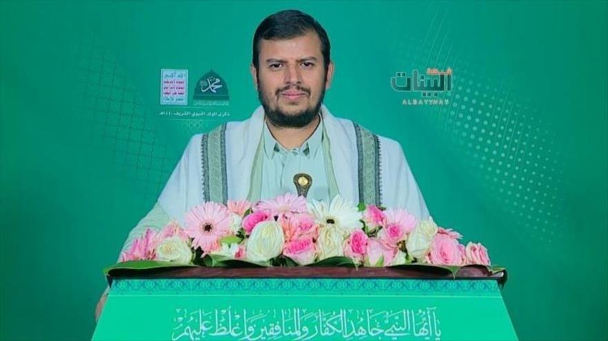 El líder del movimiento popular yemenita Ansar Allah, Abdul Malik al-Houthi.
