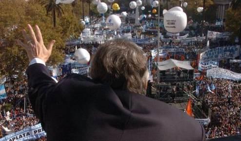 Desaparecido presidente Néstor Kirchner