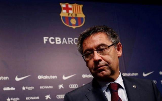 Presidente del Barcelona Bartomeu presenta su dimisión