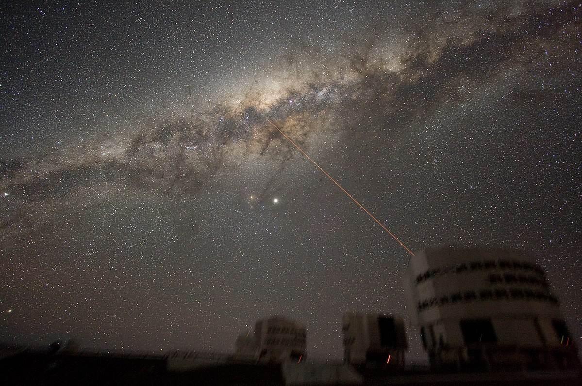 Algo muy grande chocó contra el centro de la Vía Láctea