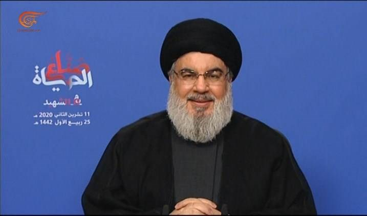 Sayyed Hassan Nasrallah, secretario general de Hizbullah.