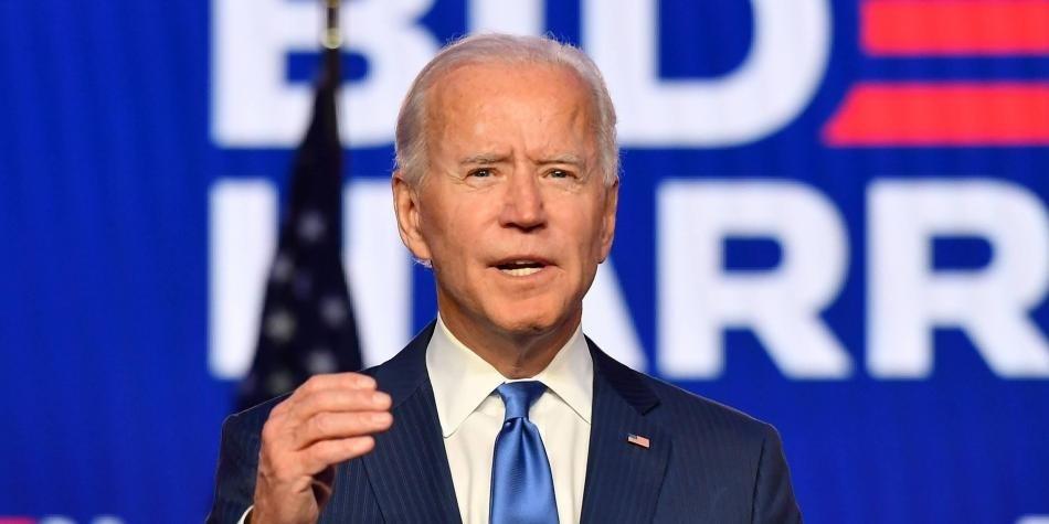 Joe Biden, electo presidente de Estados Unidos.