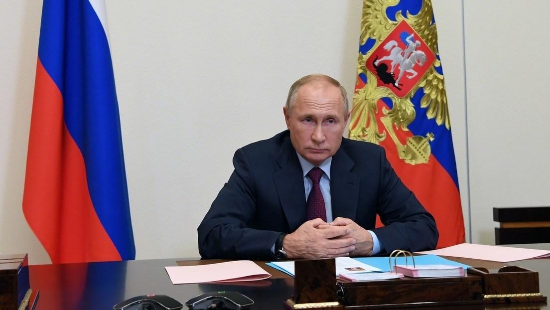 Vladimir Putin, presidente de Rusia.