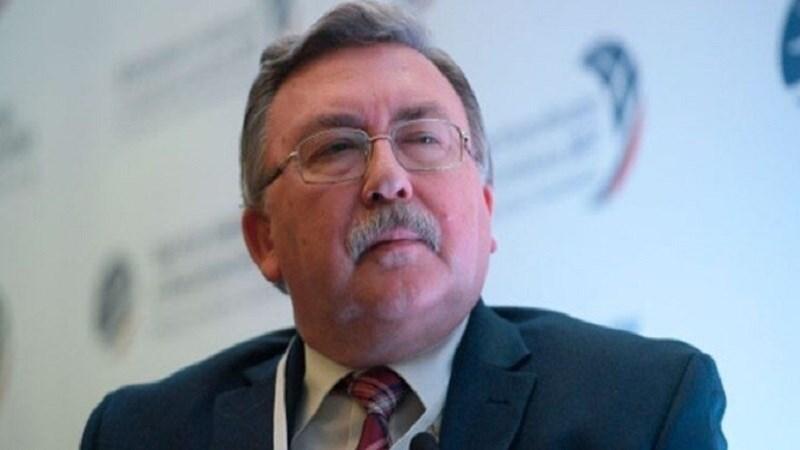 Mijaíl Uliánov, representante permanente de Rusia ante las organizaciones internacionales radicadas en Viena (capital de Austria).