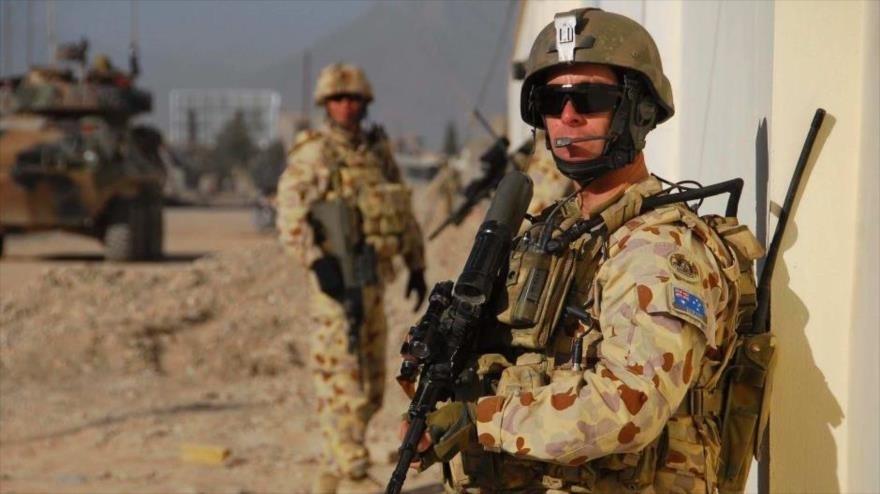 Soldados australianos en Afganistán.