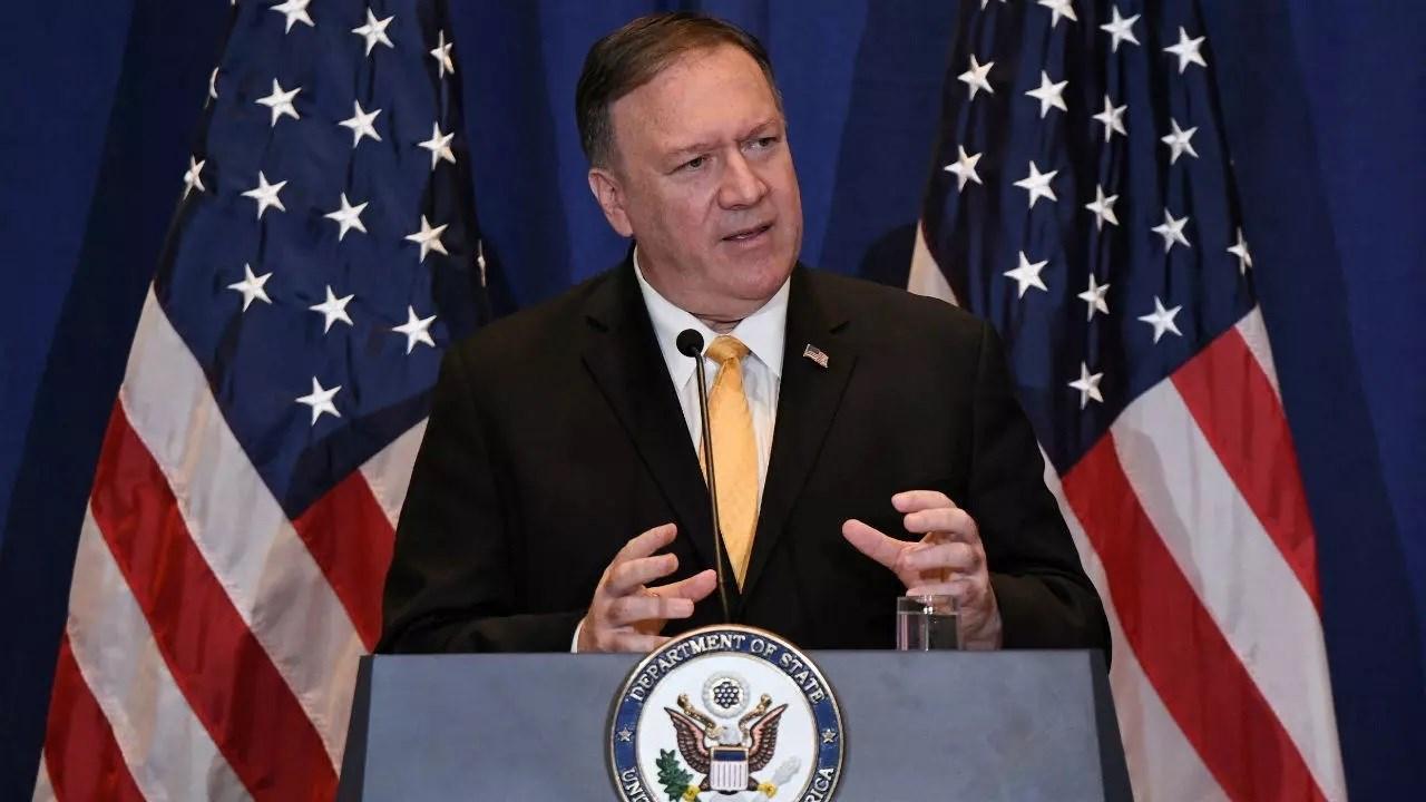 Mike Pompeo, secretario de Estado norteamericano.