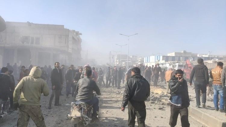 Explosión sacude la ciudad siria de Al Bab.