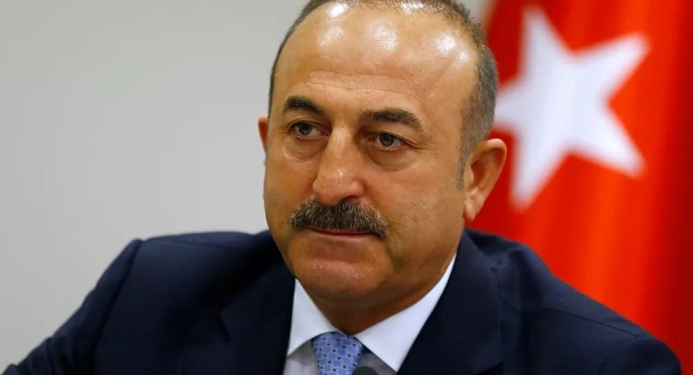 Mevlut Cavusoglu, canciller turco.