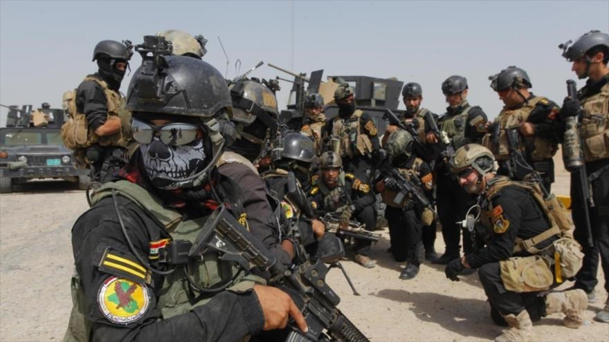 Fuerzas de seguridad iraquíes.