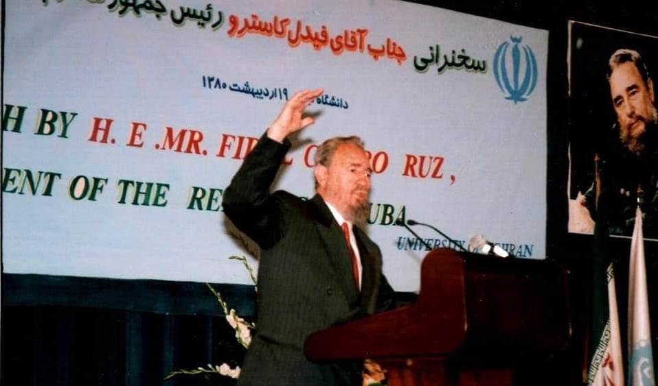 Para Fidel desde Irán
