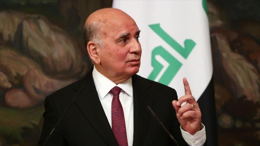 Fuad Hussein, canciller iraquí.