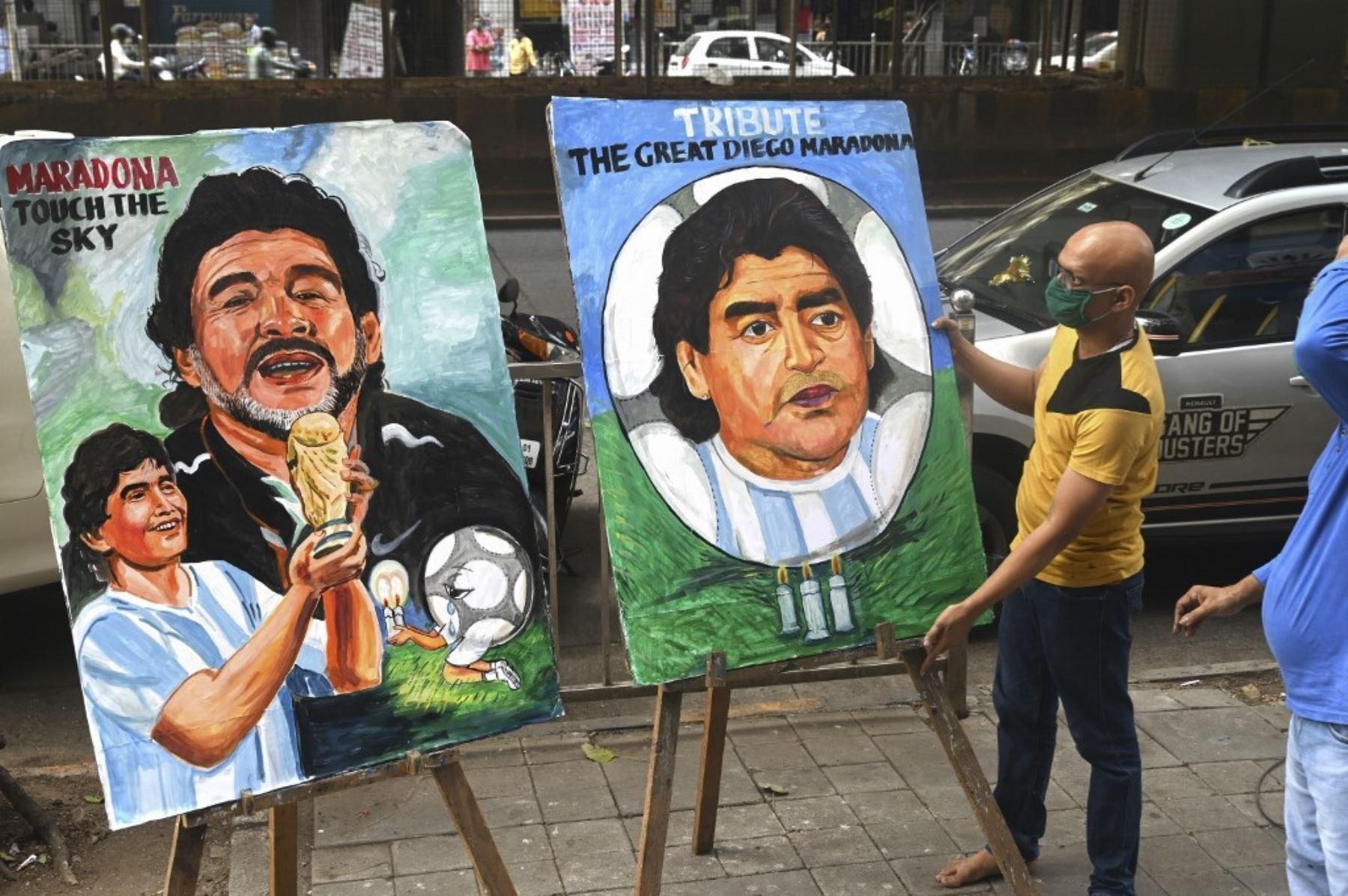 El día después sin Maradona (+Fotos)
