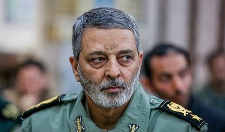El general de división Sayyed Abdul Rahim Musavi, comandante en jefe del Ejército iraní.