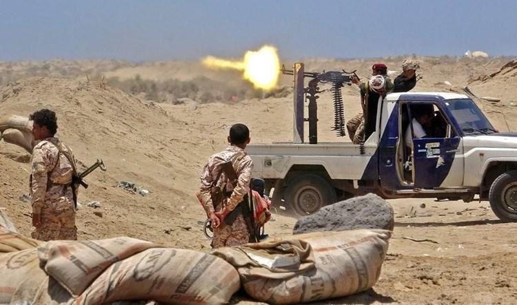 Enfrentamiento entre las fuerzas de Hadi y las del Consejo de Transición del Sur en Yemen.