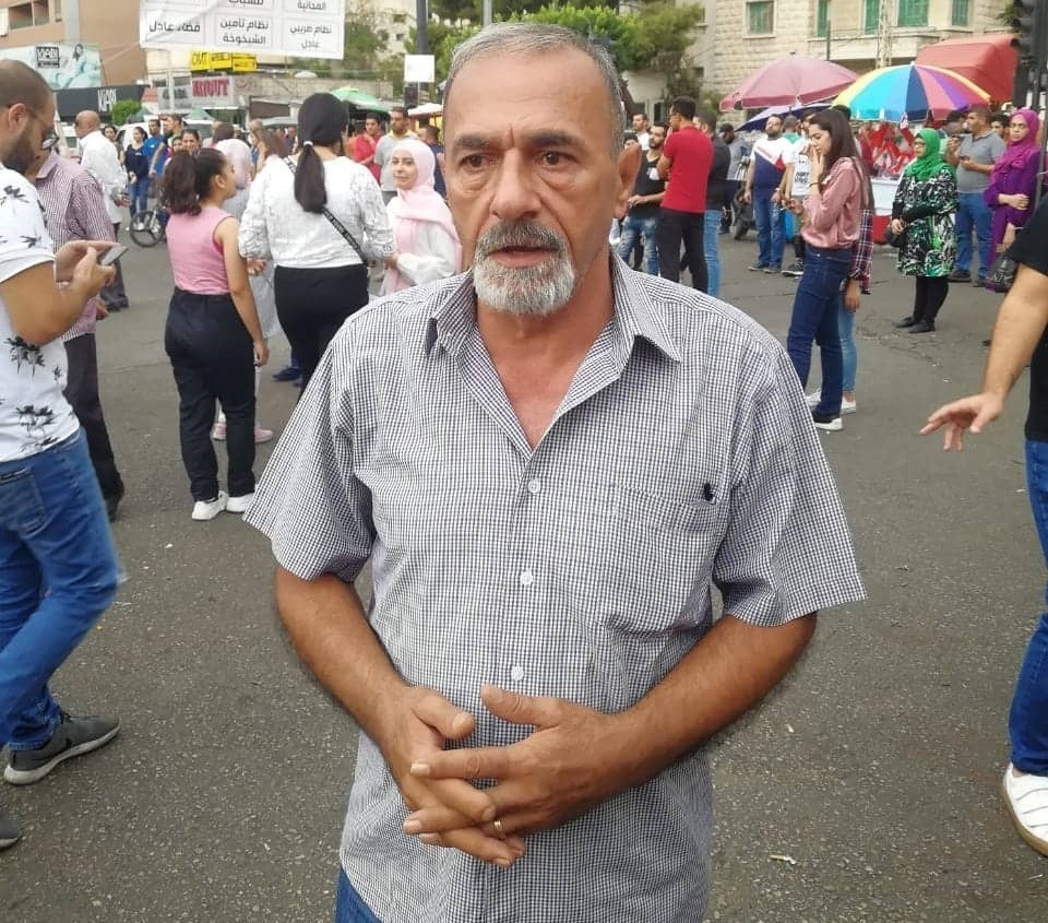 Mohammad Hashisho nuevamente nombrado secretario general del Partido Democrático Popular del Líbano.