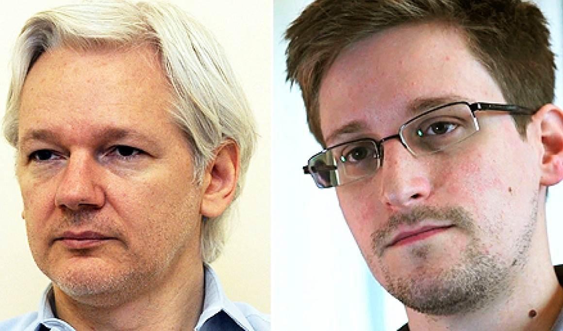 Piden  en EE.UU. perdón presidencial para Julian Assange y Edward Snowden