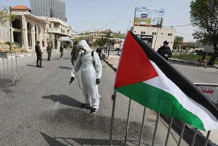 Palestina: Más de dos mil casos nuevos de Covid-19.