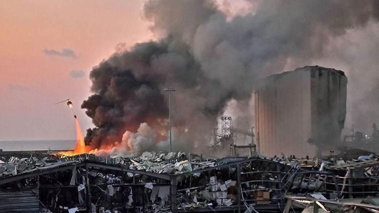 Informe del FBI: 500 toneladas de nitrato de amonio estallaron en el puerto de Beirut