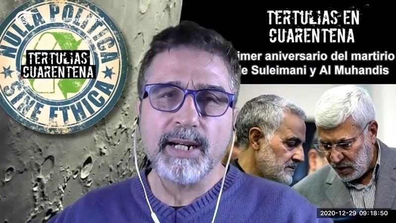 Mensajes por Qassem Suleimani y Abu Mahdi Al Muhandis
