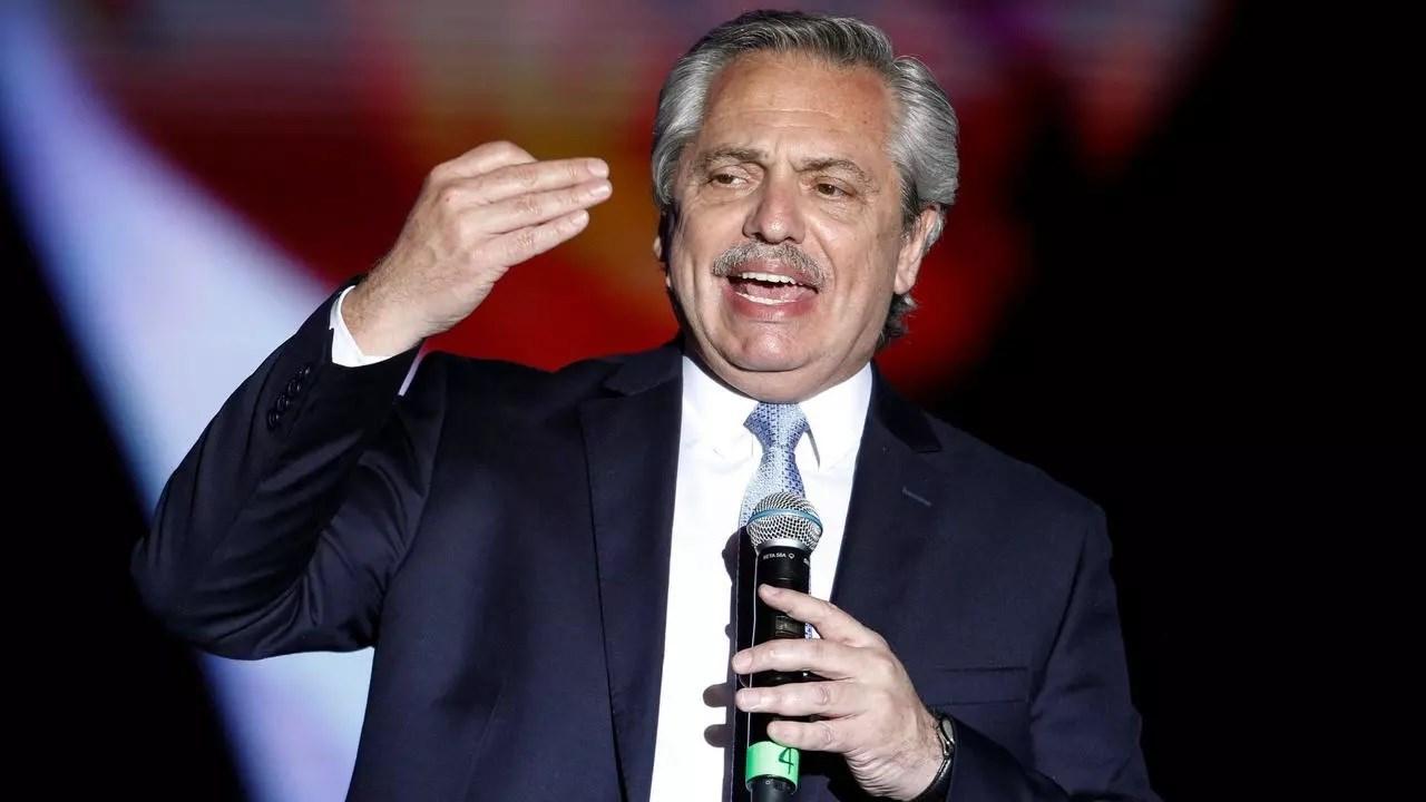 Alberto Fernandez, presidente de Argentina.