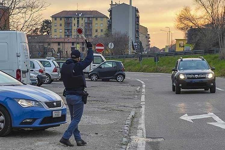 Italia: Detectan más de 43 mil violaciones de medidas anti Covid-19