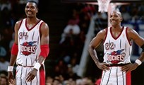 Houston no quiso el big three total: Olajuwon-Michael Jordan-Drexler