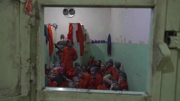 Detenidos de Daesh realizan acciones de desobediencia en la prisión de Hasakeh