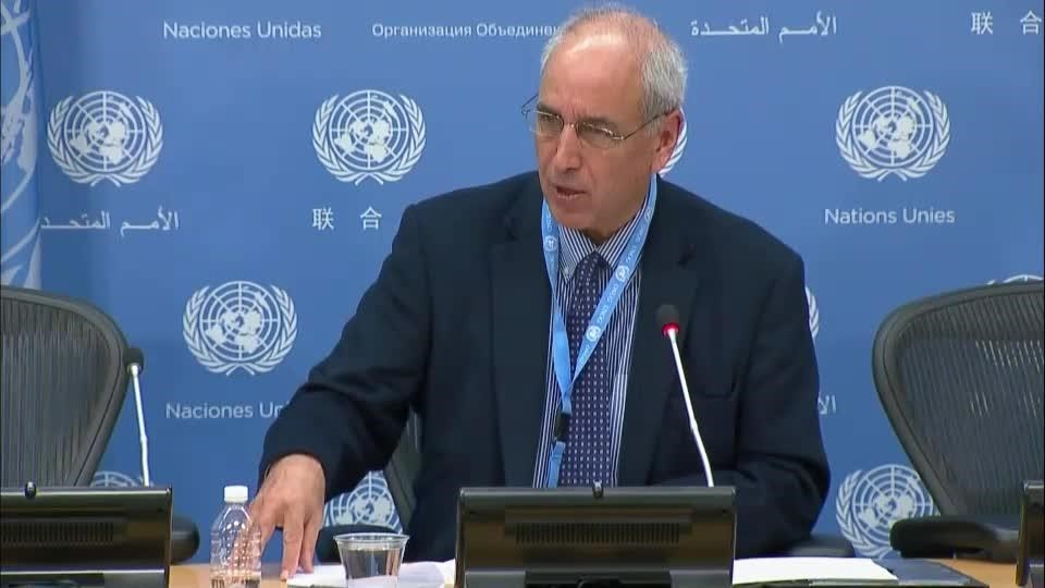 El relator de la ONU para los Derechos Humanos, Michael Lynk.