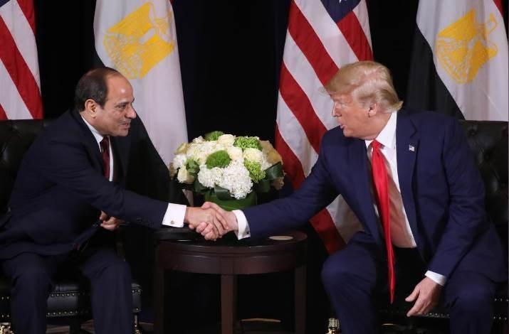 Egipto y EE.UU.  acuerdan establecer alto al fuego en Libia.