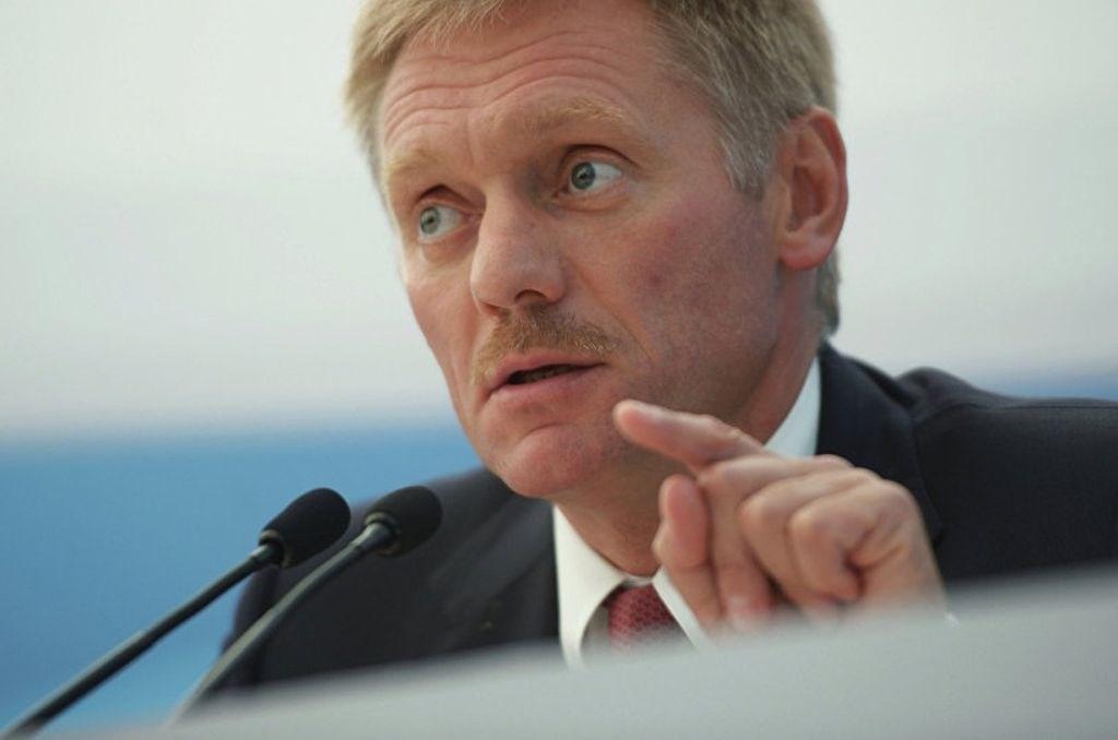 El portavoz del Kremlin, Dmitry Peskov.