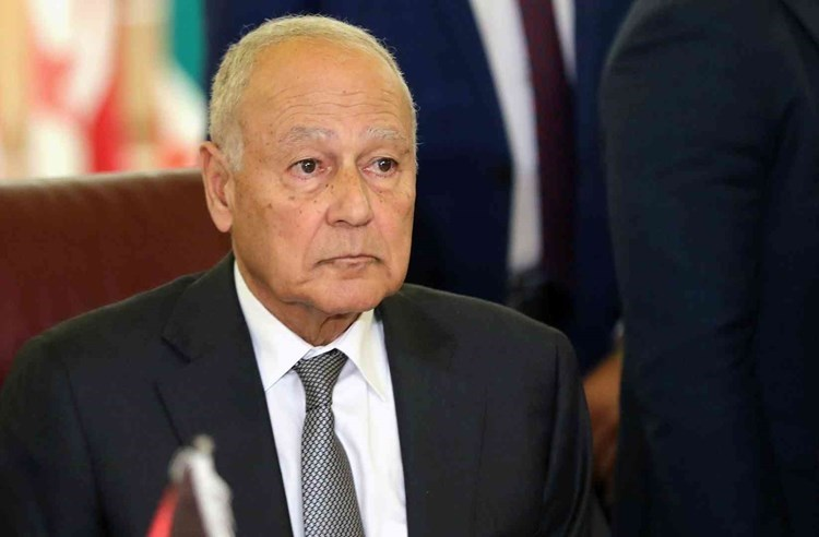 El secretario general de la Liga de los Estados Árabes, Ahmed Aboul Gheit.