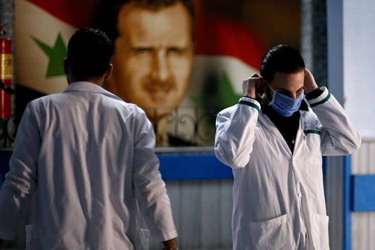 Siria reporta dos mil 563 casos de Covid-19.