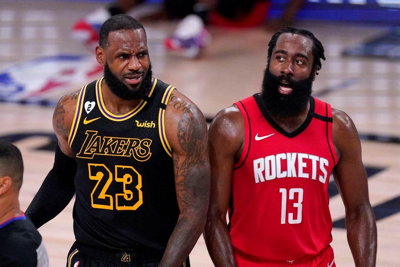 Solitario duelo entre Houston y Lakers anima playoffs de la NBA