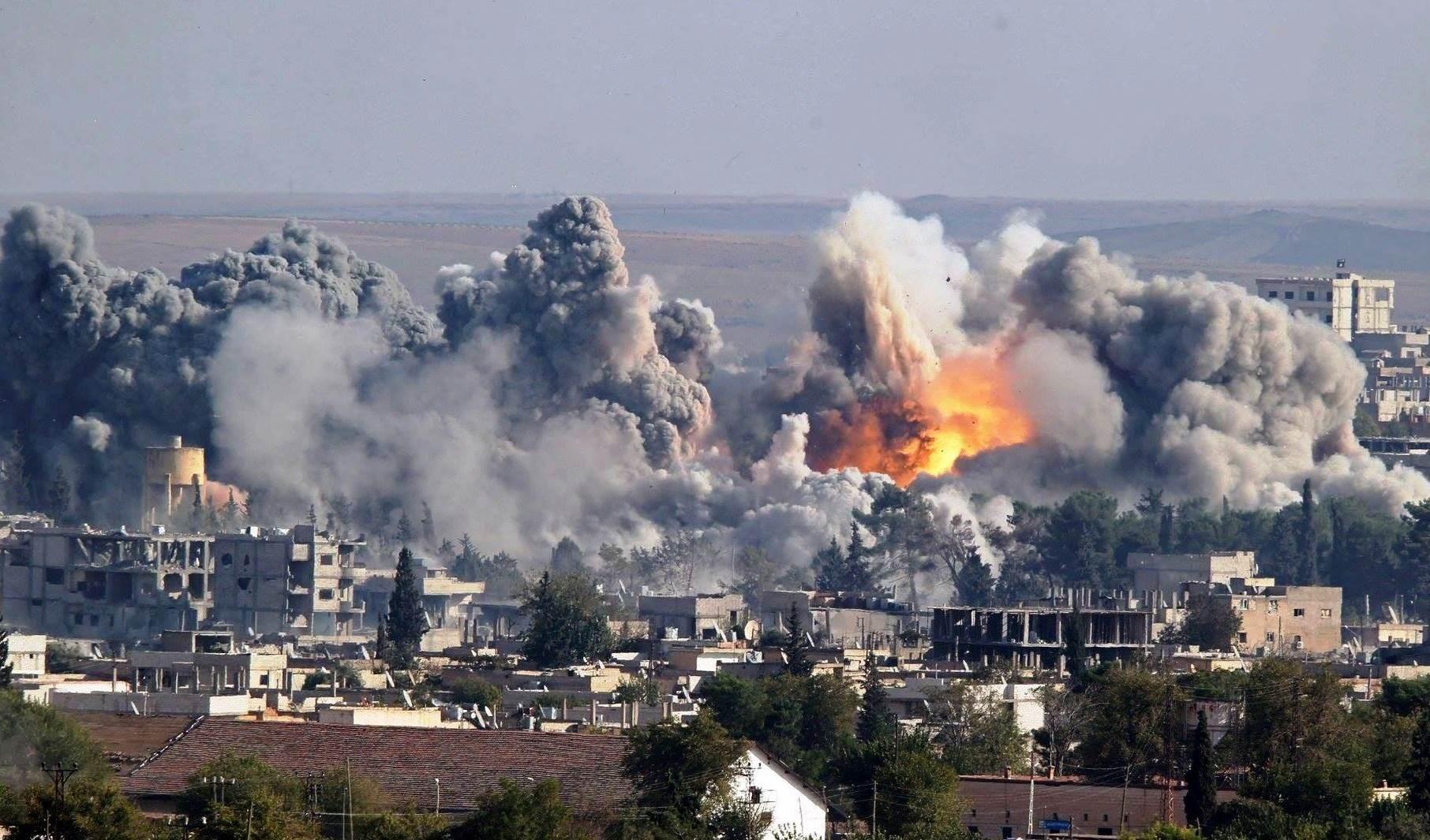 Nuevos riesgos de la guerra en Siria. Foto: AFP