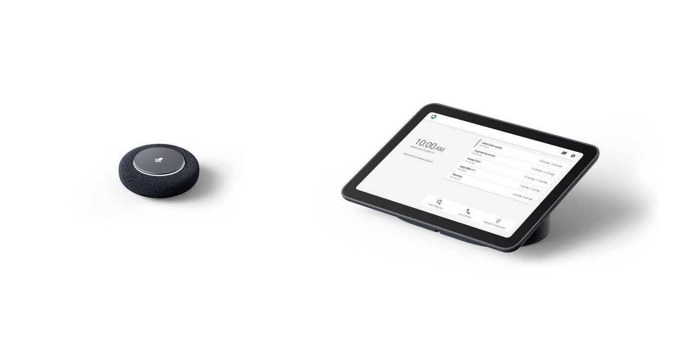 Google pone a la venta un kit para reuniones en Meet: desde 2.700 dólares ofrece cámara, micrófono, altavoz y tablet