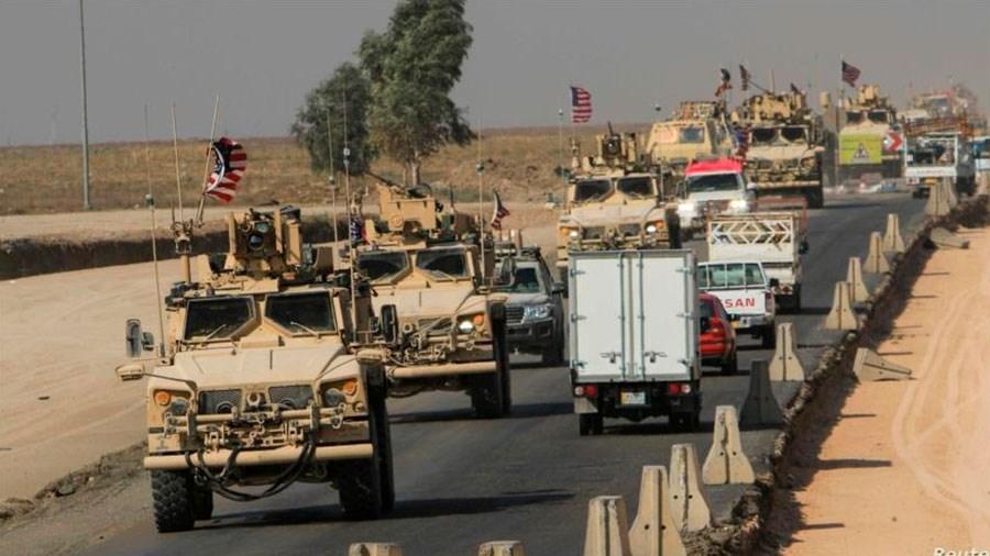 EE.UU. envía más convoyes militares a Siria.