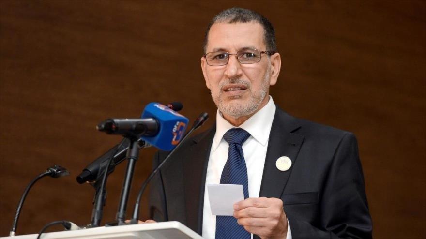 El primer ministro de Marruecos, Saad-Eddine El-Othmani.